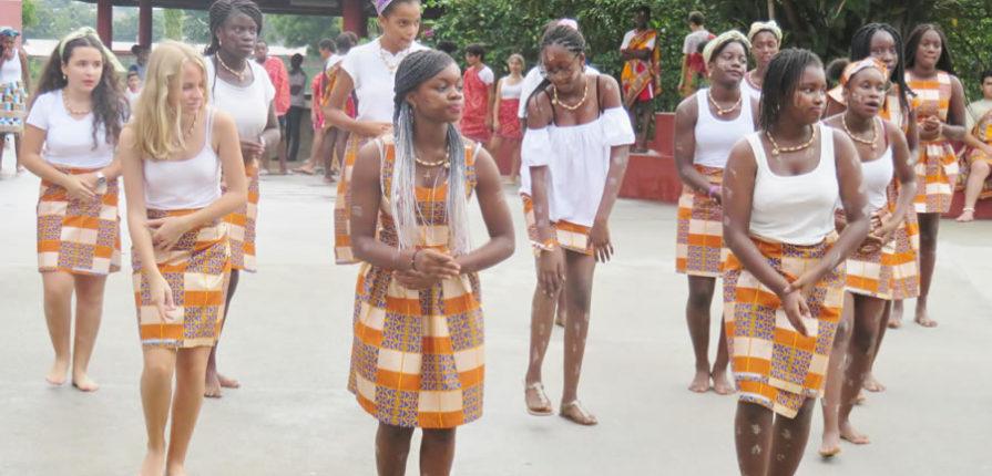 Spectacle de danse comptant pour les EPI au collège